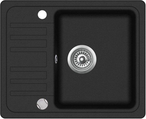 SHIGO-eckige-schwarze-Granitspuele-mit-Abtropfflaeche-GCQ102AW-601