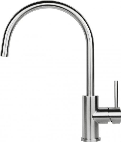 Reginox Spring Stainless steel Einhandmischer Spültisch Armatur Schwenkauslauf Edelstahl