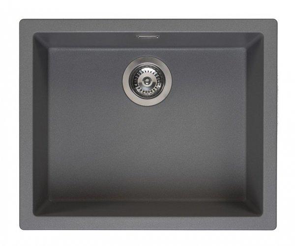 Reginox Amsterdam 50 Grey Silvery Spüle 50x40 grau