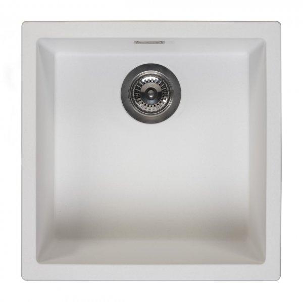 Reginox Amsterdam 40 Pure White Spüle 400x400 weiß