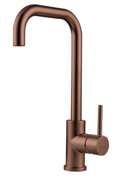Reginox Crystal Copper Einhandmischer Spülbecken Armatur Schwenkauslauf Edelstahl
