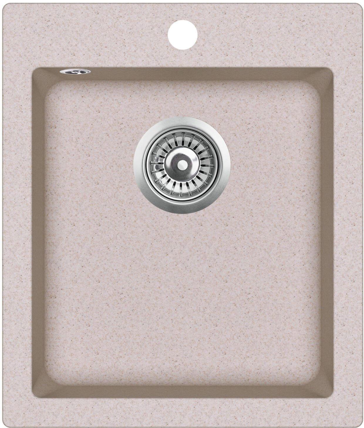 granit composite sp lbecken gqs100w 112. Black Bedroom Furniture Sets. Home Design Ideas