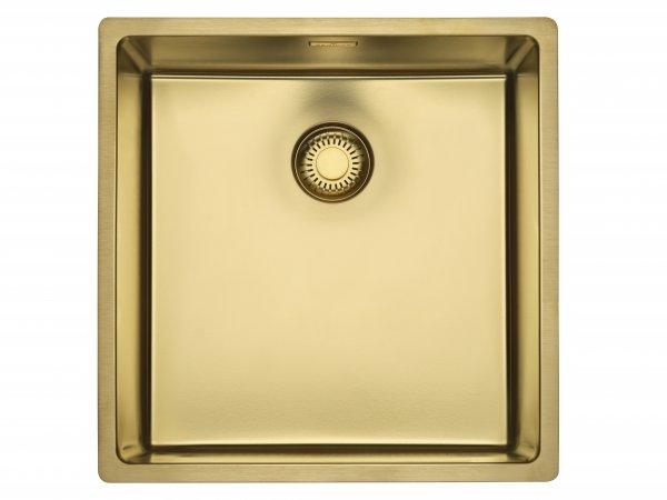 Reginox New York 40X40 GOLD (L) Comfort Edelstahl Spülbecken-