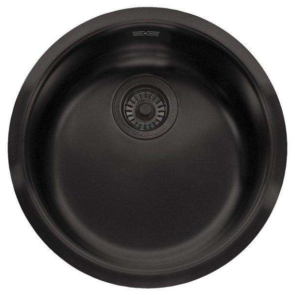 schwarze Spüle L18 390