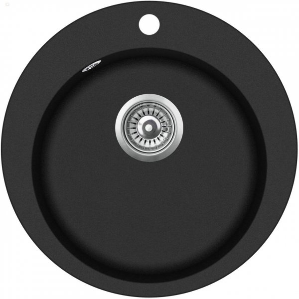 SHIGO-runde-Granitspuele-schwarz-GCR100W-601