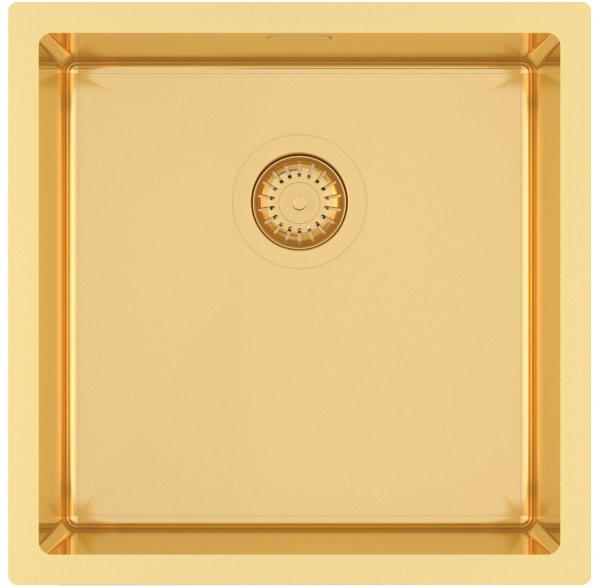 100XG4040 goldenes Edelstahl Spülbecken PVD Beschichtung
