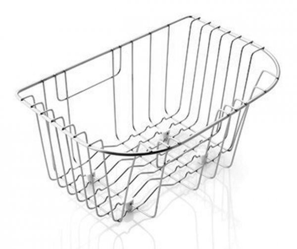 Pyramis Geschirrkorb Edelstahl 36,0x23,0x11,0cm