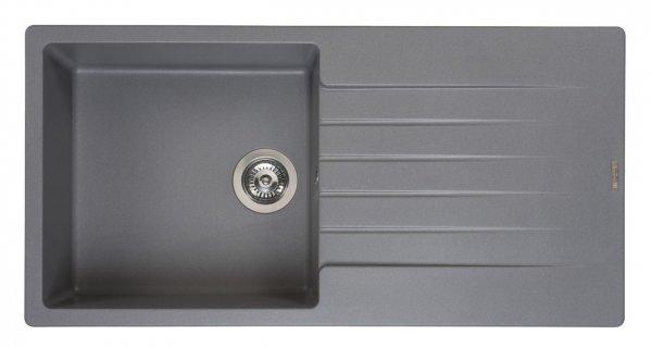 Reginox Harlem 10 Grey Silvery Spülbecken grau