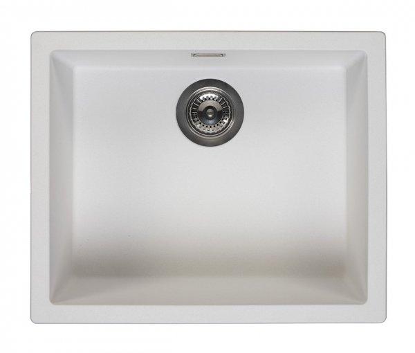 Reginox Amsterdam 50 Pure White Spüle 50x40 weiß