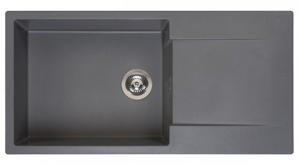 Reginox Amsterdam 540 Grey Silvery Granit Spülbecken grau